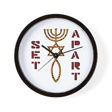 Set Apart! Wall Clock