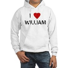 I Heart WILLIAM (Vintage) Hoodie