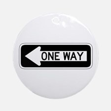 One Way Left - USA Ornament (Round)