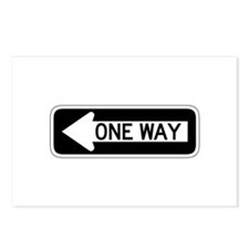One Way Left - USA Postcards (Package of 8)