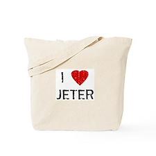I Heart JETER (Vintage) Tote Bag