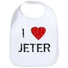I Heart JETER (Vintage) Bib