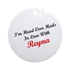 In Love with Reyna Ornament (Round)
