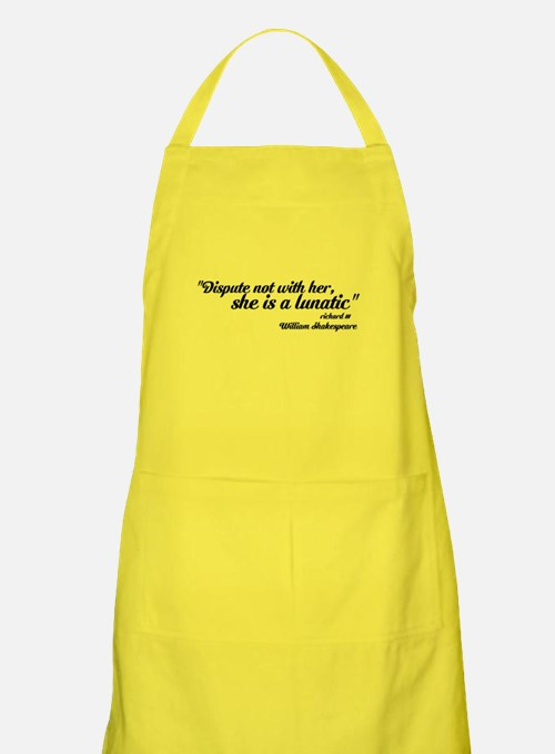 dispute not with her Apron