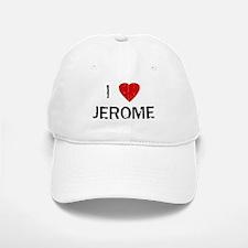 I Heart JEROME (Vintage) Baseball Baseball Cap