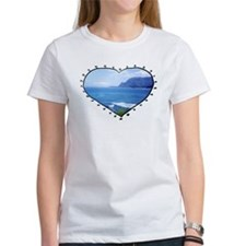 'I left my heart in Kauai' Tee