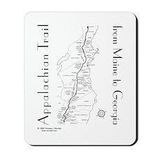 Appalachian Trail Map Mousepad