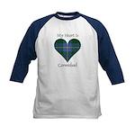 Heart - Carmichael Kids Baseball Jersey