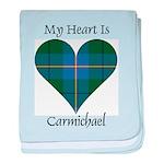 Heart - Carmichael baby blanket