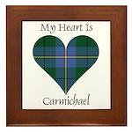 Heart - Carmichael Framed Tile