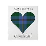 Heart - Carmichael Throw Blanket