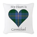 Heart - Carmichael Woven Throw Pillow