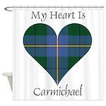 Heart - Carmichael Shower Curtain