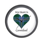 Heart - Carmichael Wall Clock
