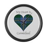 Heart - Carmichael Large Wall Clock