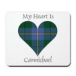 Heart - Carmichael Mousepad