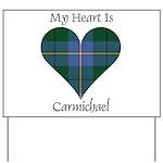 Heart - Carmichael Yard Sign