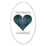 Heart - Carmichael Sticker (Oval 10 pk)