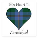 Heart - Carmichael Square Car Magnet 3