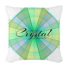 Crystal Illumination Woven Throw Pillow