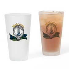 Malcolm Clan Drinking Glass