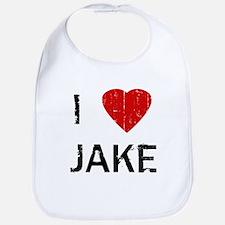 I Heart JAKE (Vintage) Bib