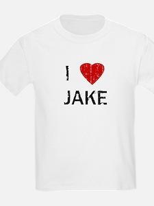 I Heart JAKE (Vintage) Kids T-Shirt