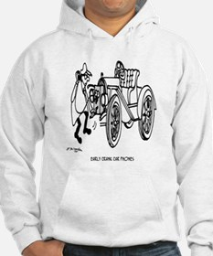 Early Crank Car Phones Hoodie