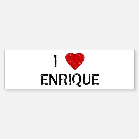 I Heart ENRIQUE (Vintage) Bumper Bumper Bumper Sticker