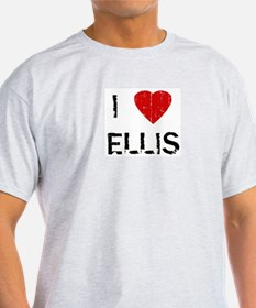 I Heart ELLIS (Vintage) Ash Grey T-Shirt