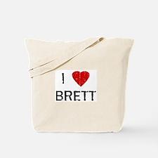 I Heart BRETT (Vintage) Tote Bag