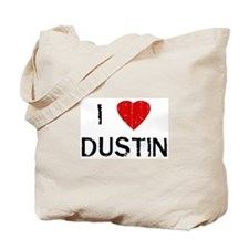 I Heart DUSTIN (Vintage) Tote Bag
