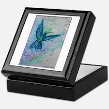 Hummingbird! beautiful bird art! Keepsake Box