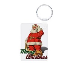 Santa Merry Christmas Keychains