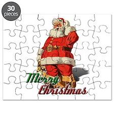 Santa Merry Christmas Puzzle