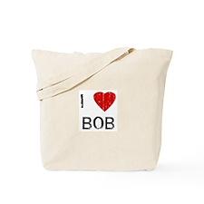 I Heart BOB (Vintage) Tote Bag