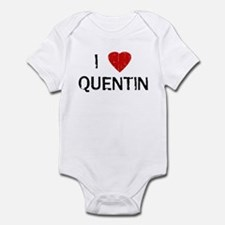 I Heart QUENTIN (Vintage) Infant Bodysuit