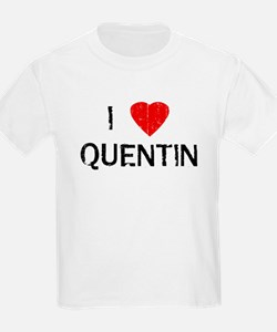 I Heart QUENTIN (Vintage) Kids T-Shirt