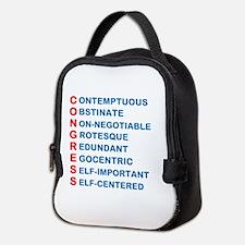 Congress Acronym Neoprene Lunch Bag