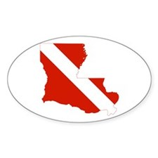 Louisiana Diver Decal