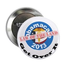 "Obamacare Law 2.25"" Button"
