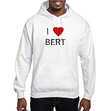 I Heart BERT (Vintage) Hoodie