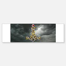 Thor's Hammer Sticker (Bumper)