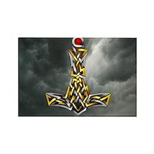 Thor's Hammer Rectangle Magnet