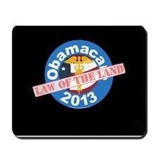 Obamacare Law Mousepad Black