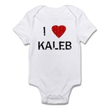 I Heart KALEB (Vintage) Infant Bodysuit
