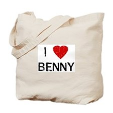 I Heart BENNY (Vintage) Tote Bag