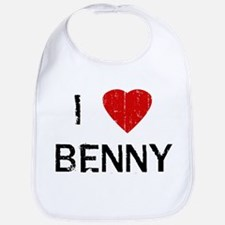 I Heart BENNY (Vintage) Bib
