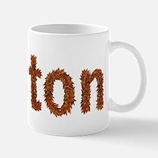 Barton Fall Leaves Mugs