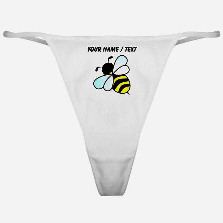 Custom Bumble Bee Classic Thong